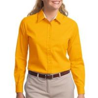 Ladies Long Sleeve Easy Care Shirt Thumbnail