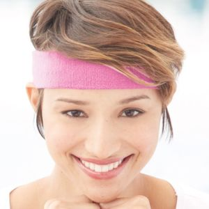 Terry Cloth Headband Thumbnail