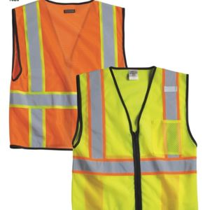 Economy Vest with Contrast Zipper Front Thumbnail