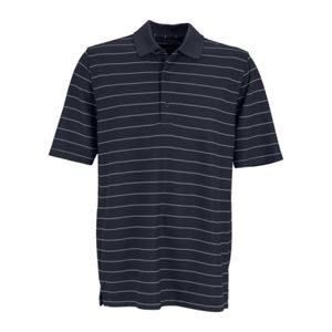 Greg Norman Play Dry® Performance Striped Mesh Polo Thumbnail