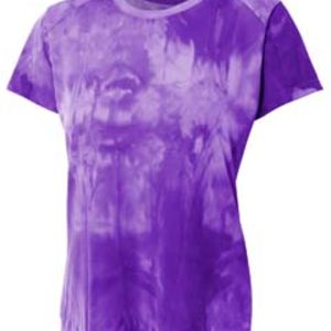 Ladies' Cloud Dye Tech T-Shirt Thumbnail