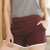 Women's Vintage French Terry Track Shorts Thumbnail