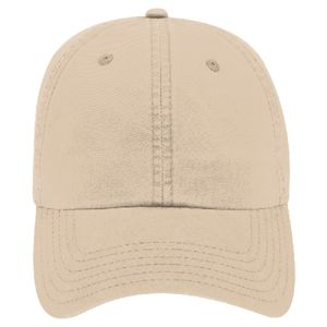 OTTO Garment Washed Lightweight Combed Cotton Twill Six Panel Low Profile Dad Hat Thumbnail