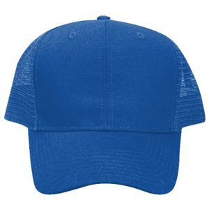OTTO Promo Cotton Blend Twill Pro Style Mesh Back Trucker Hat Thumbnail