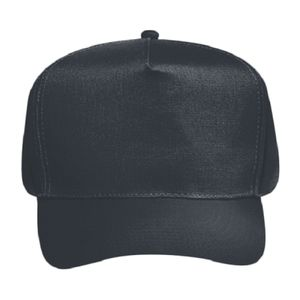 OTTO Brushed Cotton Blend Twill Five Panel Pro Style Baseball Cap Thumbnail