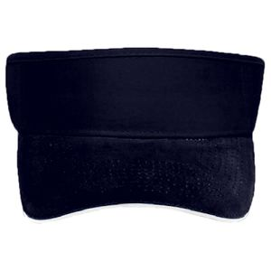 OTTO Ultra Fine Brushed Superior Cotton Twill Sandwich Visor Sun Visor Thumbnail