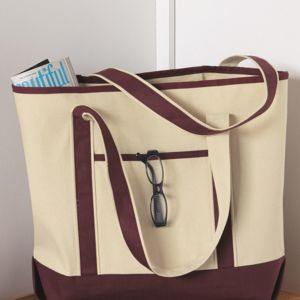 34.6L Large Canvas Deluxe Tote Thumbnail