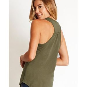 Women's Gathered Racerback Tank Thumbnail