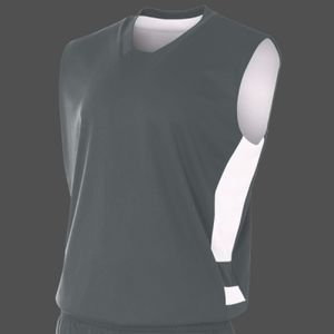 Adult Reversible Speedway Muscle Shirt Thumbnail
