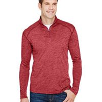 Men's Tonal Space-Dye Quarter-Zip Thumbnail