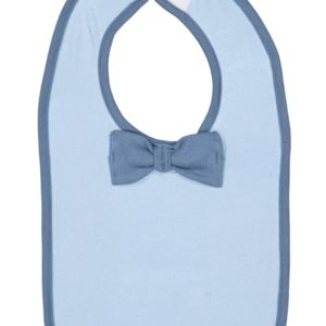 Infant Baby Rib Bow Tie Bib Thumbnail