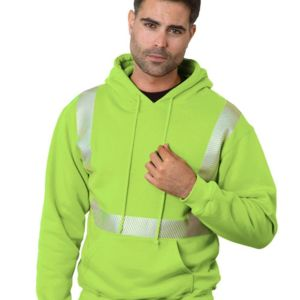 High Visibility Hooded Pullover Thumbnail