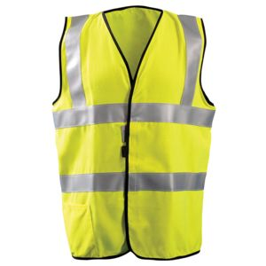 Men's High Visibility Classic Solid Standard Safety Vest Thumbnail