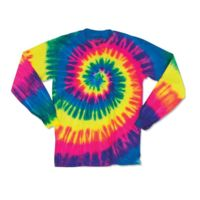 Youth Spiral Tie Dye Long Sleeve Thumbnail
