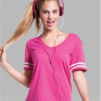 Girls' Sporty Slub T-Shirt Thumbnail