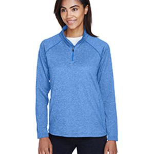 Ladies' Stretch Tech-Shell® Compass Quarter-Zip Thumbnail