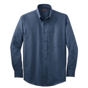 Red House Herringbone Non-Iron Button-Down Shirt Thumbnail