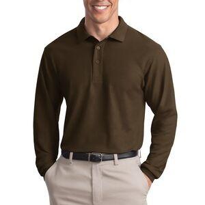 090a1834b Port Authority Silk Touch™ Long Sleeve Polo K500LS