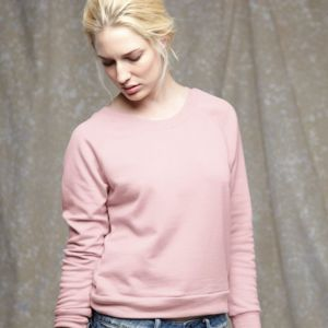 Women's French Terry Raglan Sweatshirt Thumbnail