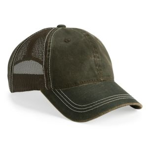 Weathered Mesh Back Cap Thumbnail