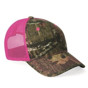 Camo Cap with Neon Mesh Back Thumbnail