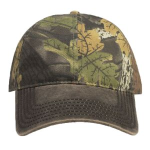 OTTO Cap OTTO Camouflage Garment Washed Cotton Blend Twill w  Heavy Washed  PU Coated Back Six Panel Low Profi 103-1135 d65fff78a2ed