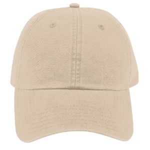 OTTO Garment Washed Superior Combed Cotton Twill Six Panel Low Profile Dad Hat Thumbnail