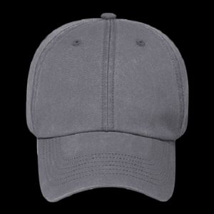 c282297f82484 OTTO Cap OTTO Garment Washed Pigment Dyed Cotton Twill Six Panel Low  Profile Dad Hat 18-711