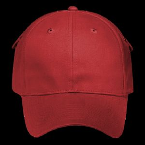 OTTO Pocket Design Brushed Cotton Twill Six Panel Low Profile Baseball Cap Thumbnail