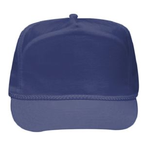OTTO Crinkle Taslon Five Panel High Crown Baseball Cap Thumbnail