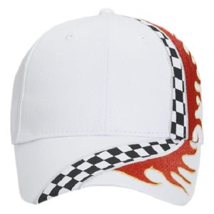 OTTO Cap OTTO Racing Flame Pattern Cotton Twill Low Profile Style Cap 58-759 eda000032d88
