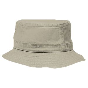 95c9e75fc1d OTTO Cap OTTO Garment Washed Pigment Dyed Cotton Twill Youth Bucket Hat  63-217