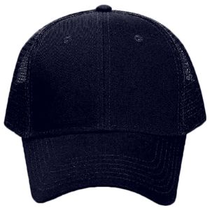OTTO Promo Cotton Blend Twill Six Panel Low Profile Mesh Back Trucker Hat Thumbnail