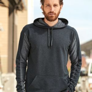 Omega Stretch Terry Hooded Pullover Thumbnail