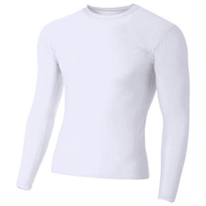 Adult Polyester Spandex Long Sleeve Compression T-Shirt Thumbnail