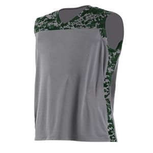 Youth Camo Performance Muscle Shirt Thumbnail