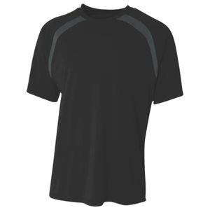 Boy's Spartan Short Sleeve Color Block Crew Neck T-Shirt Thumbnail