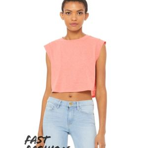 Fast Fashion Women's Festival Cropped Tank Thumbnail