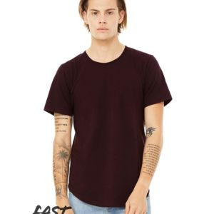 Fast Fashion Jersey Curved Hem Short Sleeve Tee Thumbnail