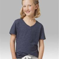 Girls' Relaxed V-Neck T-Shirt Thumbnail