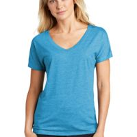 ® Ladies PosiCharge ® Tri Blend Wicking Dolman Tee Thumbnail