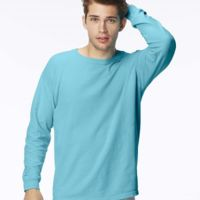 Garment-Dyed Midweight Ringspun Long Sleeve T-Shirt Thumbnail