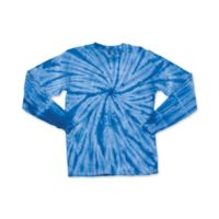 Youth Cyclone Tie Dye Long Sleeve T-Shirt Thumbnail