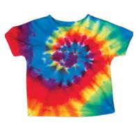 Toddler Spiral Tie Dye T-Shirt Thumbnail