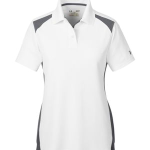Under Armour Ladies Team Colorblock Polo Thumbnail